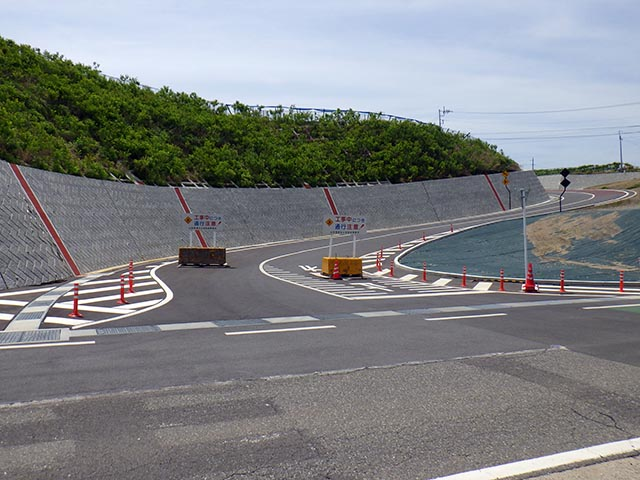 甲府市道上町小瀬5号線道路詳細設計